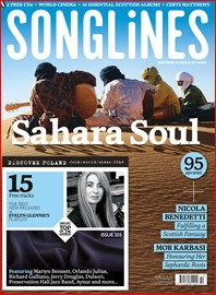 Sahara Soul Songlines cover picture